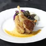 ル ベナトン - 仔羊背肉のロースト ジュのソース