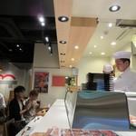 板前寿司 - カウンター