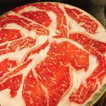 ざくろ - 5500円のコースのお肉