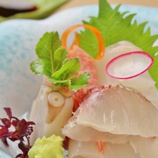 アイデア溢れる和食を提供*厳選鮮魚は一流達が集う仲買で仕入れ