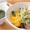 そばうさ - 料理写真:バジル冷そば 850円 バジルとお蕎麦、意外と相性ヨシ!