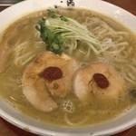 麺匠 中うえ  - 料理写真:純鶏白湯らーめん(800円)