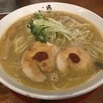 麺匠 中うえ  - 純鶏白湯らーめん(800円)