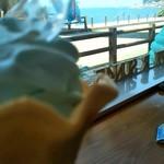 夕日レストラン - 日本海を見ながら
