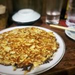 食句 - 玉子焼き(お好み焼き風)