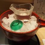 華泉 - 冷酒(賀儀屋 清涼純米 花火)