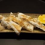 華泉 - にぎり寿司(太刀魚の皮)