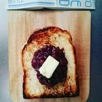 89673835 - レブレッソブレッドを使って自家製あんバター厚切りトースト❤