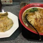 89674231 - ハーフ排骨麺 &ミニ炒飯