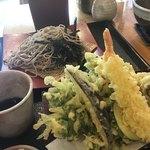みのり - 料理写真:そば食べかけです