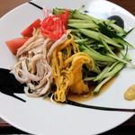 閖上 浜一番 - 料理写真:冷し中華