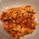 中国家庭料理 北斗 - 中国家庭料理北斗青山店(海老と卵のチリソース炒め)