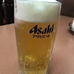 広東菜館 青龍 - 生ビール