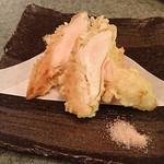 89676645 - 鶏ササミ天 柚子こしょう風味