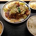 聚福縁 - ホイコーロー定食