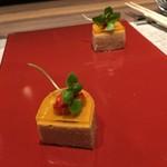 神戸牛炉窯焼ステーキ 雪月風花 北野坂 - 玉葱のムース
