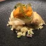 神戸牛炉窯焼ステーキ 雪月風花 北野坂 - 真鯛のエスカベッシュ