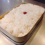 (卸)調布食肉センター - ごはん @350円+外税