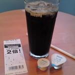 ドトールコーヒーショップ - アイスコーヒー(L)(300円)