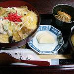 味処もん - 油麩丼