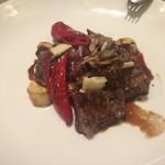 神戸イタリアン KIZUNA - 牛ハラミのステーキ