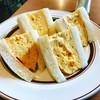 タロ コーヒー - 料理写真:ゴージャスでプルップルの厚焼き玉子サンド(^O^)