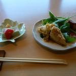 幸家 - ゆばとろ豆腐&卯の花稲荷コロッケ