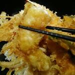 天麩羅バル 秋光 - 白身魚