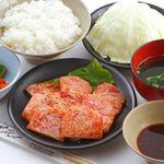 じゅーじゅー - 料理写真:ソフトカルビランチ