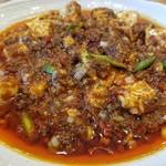 中華キッチン れんげ - 男気麻婆豆腐
