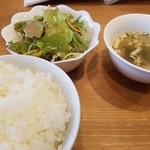 中華キッチン れんげ - セット