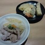 和ぎ - 豚のしゃぶしゃぶ・天ぷら