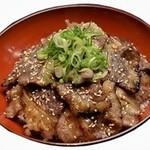 KASUYA - 料理写真:牛カルビ丼