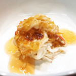 和幸寿司 - 蟹と白子豆腐