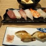 89693397 - 寿司定食にむし穴子追加
