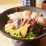 日本橋 すし 釣りきん - 釣りきん海鮮丼ぶり