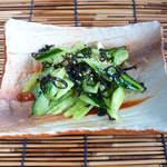 鯛介 - たたききゅうり