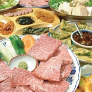 平日限定◆食べ放題実施中!リーズナブルなコース揃い踏み