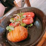 CCC~Cheese Cheers Cafe~ Shibuya - グリルプレートA(ラクレット前)