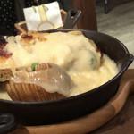 CCC~Cheese Cheers Cafe~ Shibuya - グリルプレートA(ラクレット後)