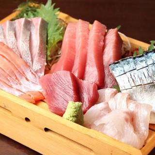 """岩手県からの旬の贈りもの。旨い鮮魚で""""ホッ""""と一息◎"""