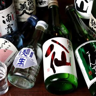 東北の銘酒と共に、蘇る故郷の思い出。多彩なお酒で一献傾ける