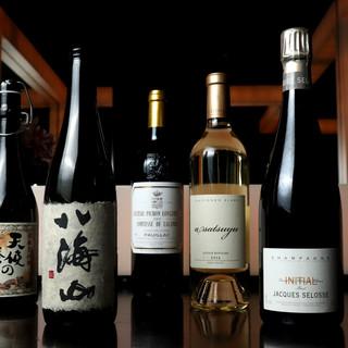 美食に相応しい日本酒も取り揃え。銀座の隠れ家で傾ける旬の1杯