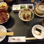 木曽路 - 鰻ひつまぶし御膳・3,240円