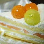 ハーブス 丸ビル店 - メロンメロンケーキ