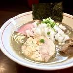 零一弐三 - 料理写真:濃厚煮干し蕎麦・800円+叉焼トッピング・200円