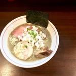 零一弐三 - 濃厚煮干し蕎麦・800円+叉焼トッピング・200円
