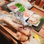 魚~ずまん - マグロのかま\(*ˊᗜˋ*)/