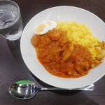 やちよスパイス食堂 - 料理写真:バターチキンカレー¥600-