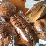 mam - 料理写真:かぼちゃあんぱん、半熟たまごカレーパン、 たまご・ツナサラダサンド などなど